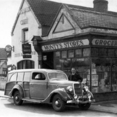 We've been told this is Mr. Hurn's (?) shooting brake. Can anyone confirm or add to this?