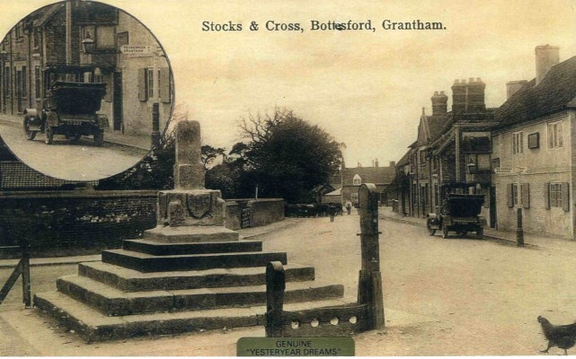 Early 1912 Studebaker car (Registration No. CT 337) owned by Mr Goodson, The Bull Hotel, Bottesford