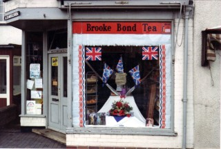 The Shop Decorated for the Queen's Jubilee