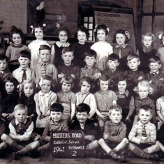 Musters road Infants, 1941