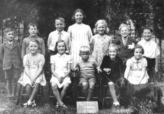 Muston School in 1940