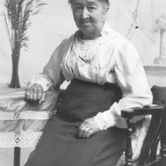 My great grandmother Sarah Coy of Muston photographed in later life. She died in 1926.