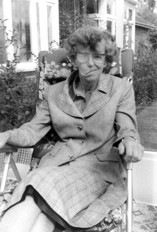 Dr Kathleen Woll in later life