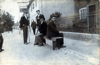 Outside The Bull C.1900