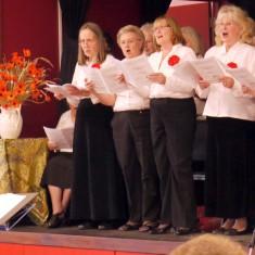 The U3A Choir, conductor Barbara Cobb