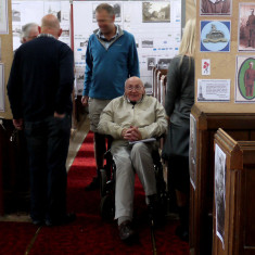 Alan Reed, retired headmaster and churchwarden, a tower of strength and encouragment