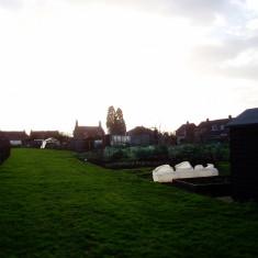 Rampers Field Allotments behind Wyggeston Avenue