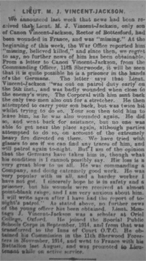 Grantham Journal Saturday February 19th, 1916