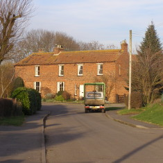 Farm cottages in Muston