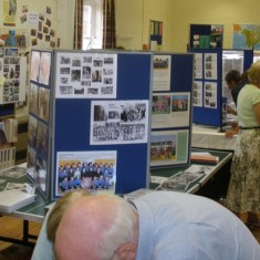 Displays filled the Fuller Room and the adjacent Youth Club room. | Neil Fortey
