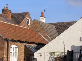 The servants' rooms were in the attics