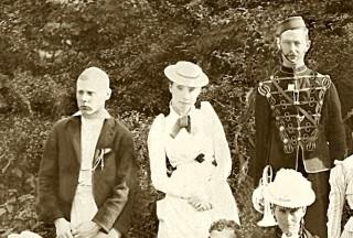 A Victorian garden party