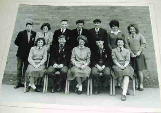 Belvior Secondary Modern School Prefects 1960/1