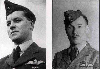 First of the many. F/Lt W.D.B. Ruth DFC and F/Sgt B.C. Wescombe carried out the first raid of the war from Bottesford on the night of 23/24th November 1941: neither survived the war