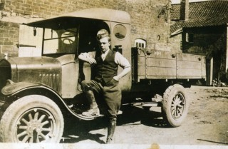 Tom Samuel's first Ford Model T lorry