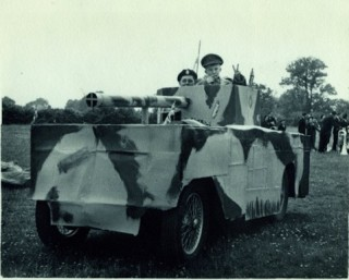 'Prize winning' Wolseley Hornet 'converted' into a tank in 1952 - Keith recalls 'the engine boiled like a steam engine - we forgot air vents for the radiator!'
