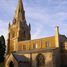 Locality (1). St John the Baptist parish church.
