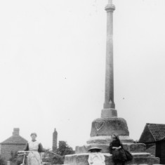 Locality (15). Muston cross, Woolsthorpe Lane