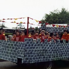 Playgroup Floats - 8th May Celebrations 1981