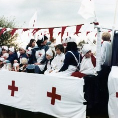 Playgroup Mayday Float - early 1980's