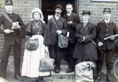 Bottesford Post Office Staff 1912