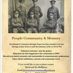 Bottesford Parish WW1 Project Poster