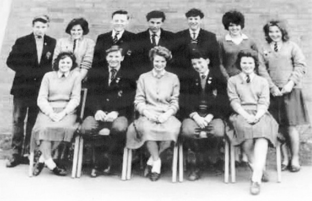 Belvoir Secondary School Prefects 1960/61 Can you help with the missing names?