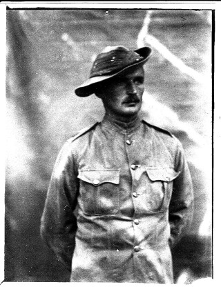 H Walter S Hatton either as a member of the British South Africa Police or as a Private in in the Rhodesian Regiment | From the Collection of Mr Charles Hatton