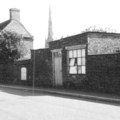 Queen St East side, cobblers shop