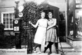 Nancy Goodson (Mrs. Moulsher) and Jane Randell (Mrs. Spick)