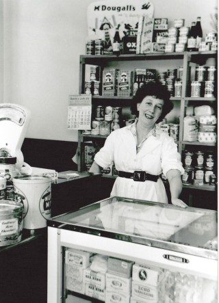 Emily Rayson Freeman Brown Bakery, Queen St. 1960