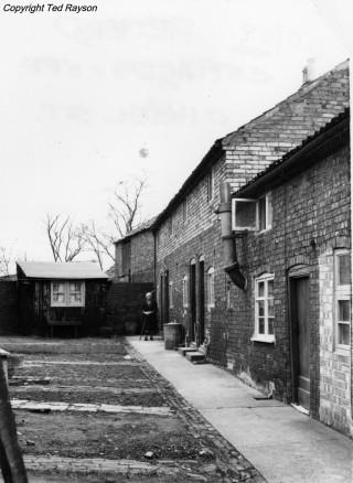 Retford Cottages, Chapel Street c. 1955