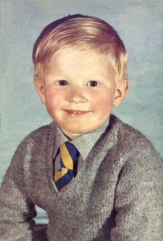 My first year at school, 1966.
