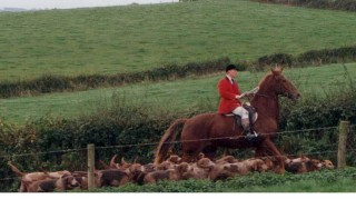 Hunting with the Monmouthshire in Wales