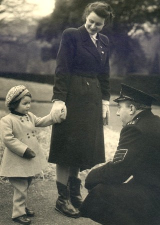 Lady Charlotte meets the Sergeant, 1950.