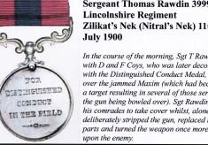 Thomas Rawdin - The Hero of Nitral's Nek