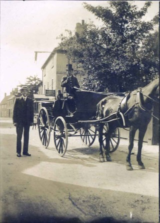 A Singleton's carriage early 20th Century