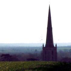 Village Spire View