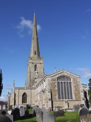 St Marys from the east.