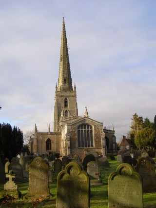 St Mary's, seen from the east.