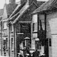 Was this Bottesford's first car? Studebaker belonging to Mr. Goodson, Landlord of The Bull 1919
