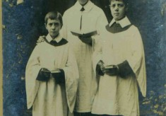 Choristers - about 1909