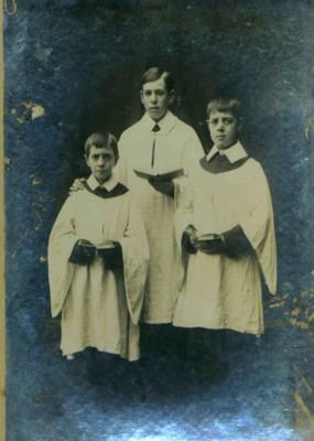 Frank, Bill and Bob Sutton