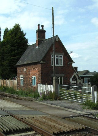 The Level-Crossing Keepers cottage today.