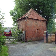 Picture 2. Is this the outbuilding seen in picture 1?