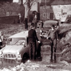 Whose cars were these? March 1963.