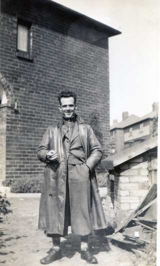 Youngest of the Harby brothers, GNER train driver George Harby
