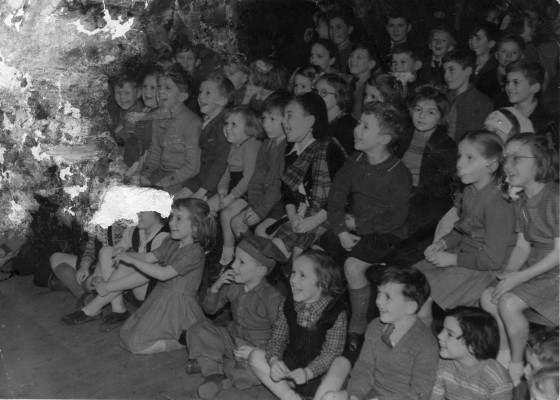 Bottesford children celebrating the opening of the VC Hall in January 1947 - Number 1