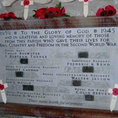 The Second World War Memorial