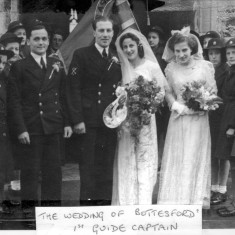 Wedding of the First Guide Captain - Marjorie Holt